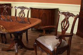 high end dining table federal style foot mahogany tab ideas