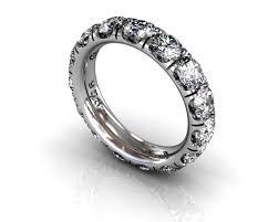 white gold wedding bands for women wedding band diamonds craponia setting 15 diamonds