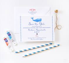 Nautical Save The Date Custom Save The Date Cards Archives Watercolor Wedding