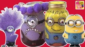 learn how to make minion jars at home new diy crafts for