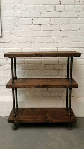 Rustic Wood Bookshelves by The Piece Is One Of My Favourites As It Is So Versatile And Can Be