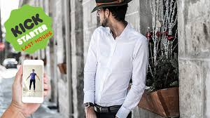 ukys perfect tailored shirts measured from your phone by ukys