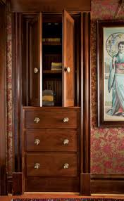 70s cabinets creating a built in linen press old house restoration products