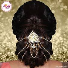 madz fashionz usa asian wedding jewellery hair bun joora jewellery