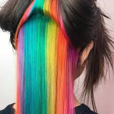 hair colours 4 rainbow hair color trends you need to know for 2017 allure