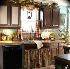 decor for the kitchen christmas decor in kitchen with diy mantel