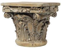 amazon com a u0026b home 73379 decorative pedestal 10 by 10 by 9 inch