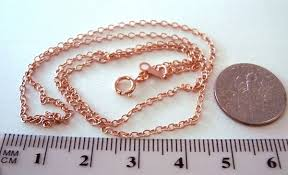 gold filled chain necklace images 2mm 16 quot 14k rose gold filled cable chain necklace jpg&a