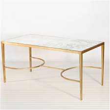 coffee table mesmerizing gold and glass coffee table design ideas