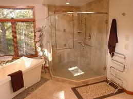 bathroom wonderful beige glass stainless luxury design small