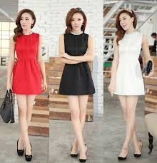 above the knee dresses casual