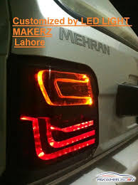 how to make custom led tail lights led tail lights meters a c panels smoked projector headlights