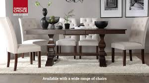 Dark Dining Table by Cavendish Dark Wood Extending Dining Table By Furniture Choice