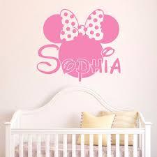 Pink Minnie Mouse Bedroom Decor Shop Minnie Mouse Nursery On Wanelo