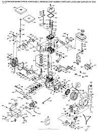 tecumseh ohsk120 222012b parts diagram for engine parts list 1