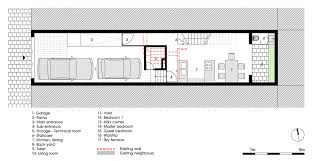 design a house floor plan 4 5x20 house by ahl architects associates