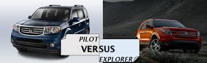 compare honda pilot and ford explorer honda pilot vs ford explorer ca norm reeves honda covina