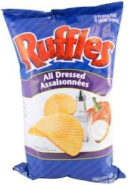 ripples chips ruffles all dressed chips