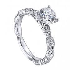 dainty engagement rings antique style diamond engagement ring setting er4122w44jj