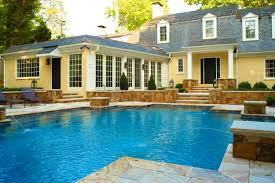 pool home painted dutch colonial pool fountains and screen porch u2014 marcia