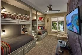 Plans For Loft Bed With Steps by Twin Over Full Bunk Bed With Stairs Kids Rustic With Built In