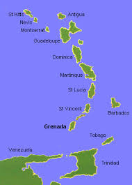 grenada location on world map simple map of the eastern caribbean lesser antilles homestays