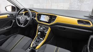volkswagen suv 2015 interior vw t roc suv 2017 review by car magazine