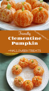 fruit treats friendly clementine pumpkin treats for health home
