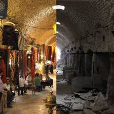 syria before and after before after photos of syria reveals war s destructive effects