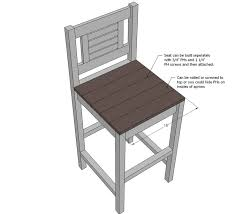 Ana White Free And Easy Diy Furniture Plans To Save You Money by Best 25 Diy Bar Stools Ideas On Pinterest Rustic Bar Stools
