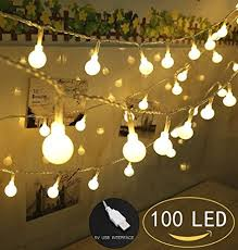 100 led globe string lights lights