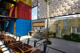 clever shipping container hostel opens in vietnam curbed