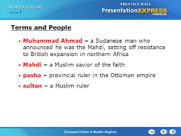 What Problems Faced The Ottoman Empire In The 1800s European Claims In Muslim Regions Section 3 Analyze The Sources Of