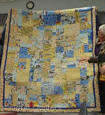 World Map Quilt Ninigret Quilters May Meeting 2013
