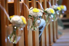 wedding flowers for church church wedding flowers
