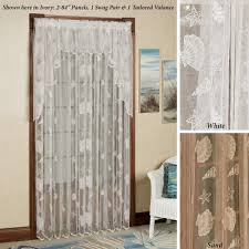 Should Curtains Touch The Floor Lace Curtains Touch Of Class