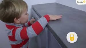 Safety First Cabinet And Drawer Latches Safety 1st How To Use Drawer Locks Safety Accessory Youtube