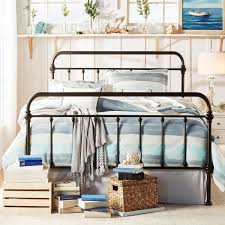 bedroom design metal bed frame ivory metal bed frame in