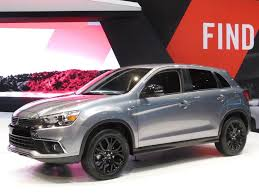 2017 mitsubishi outlander sport brown 2017 mitsubishi outlander sport limited edition debuts in chicago