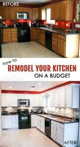 Small Kitchen Remodeling Ideas On A Budget Best 25 Budget Kitchen Remodel Ideas On Pinterest Cheap Kitchen