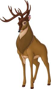 drawn stag female deer pencil and in color drawn stag female deer