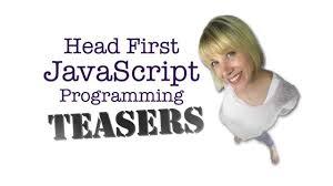 javascript tutorial head first a little head first javascript programming teaser youtube