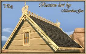 roof decoration my sims 4 blog russian house roof decorations windows and fences