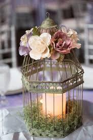 birdcage centerpieces my diy wedding birdcage centerpieces with silk flowers battery
