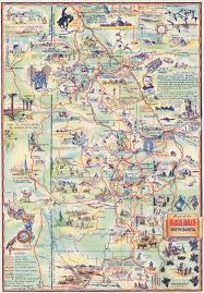 Sturgis Michigan Map by Vintage Pictorial Maps The Vintage Map Shop Inc