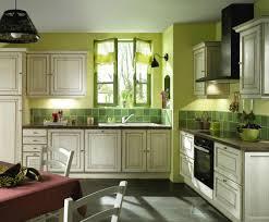ideas de decoración de cocinas rústicas en color verde