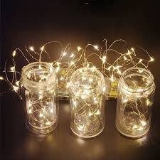 copper wire lights battery 1x led string light battery powered decorative led copper wire fairy