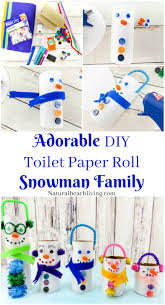 adorable diy toilet paper roll snowman crafts snowman crafts