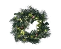 aldi us huntington home 24 pre lit wreath or 6 garland