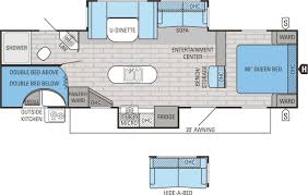 Jayco Jay Flight Floor Plans by Jayco Jay Flight 29bhds Bunkhouse Travel Trailer Tcrv